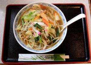 竹山さんが「生姜が利いていて、おいしかった」と振り返る、「水明亭」本店の看板メニューだったちゃんぽん