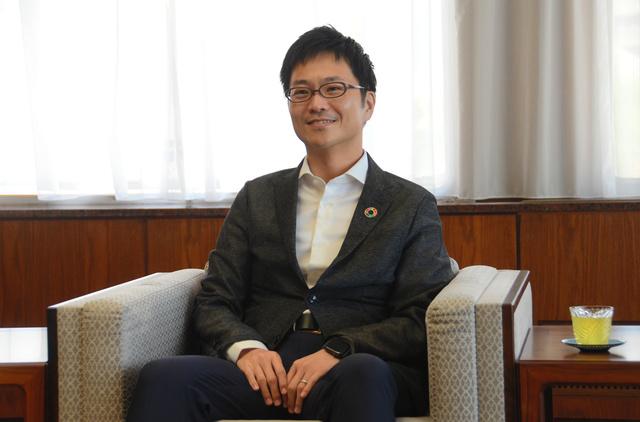 元金融庁幹部で南都銀行副頭取の石田諭氏=奈良市