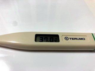 コロナ 体温 37 度