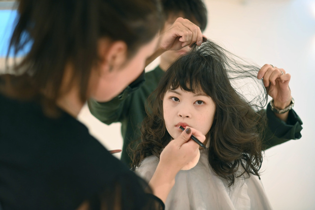 菜 ダウン症 桜 さん モデル