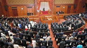 2019年8月の臨時国会開会式