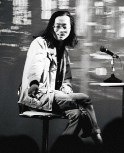 1993年、トークショーに出演した宅八郎さん