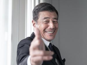 舘ひろしさん=篠田英美撮影