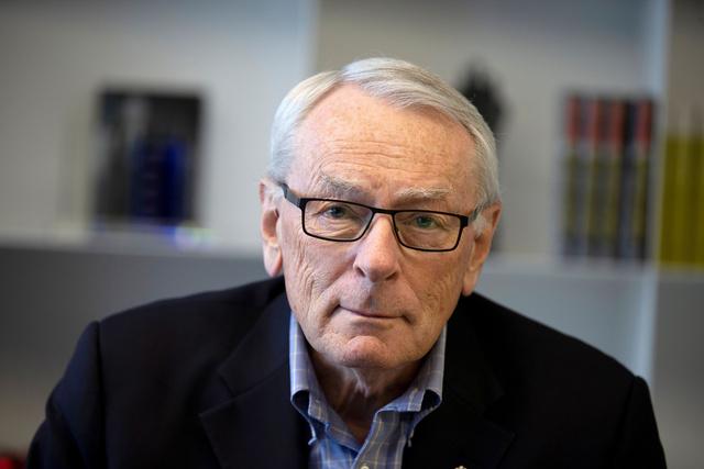 国際オリンピック委員会(IOC)の古参委員ディック・パウンドさん=ロイター
