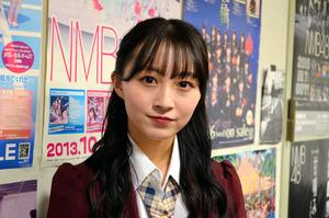 「患者さんの心に寄り添える看護師になりたい」と語る山本彩加さん=大阪市中央区、阪本輝昭撮影