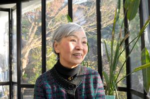JT生命誌研究館名誉館長の中村桂子さん