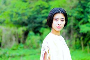 連続テレビ小説「ちむどんどん」でヒロインで務める黒島結菜さん=NHK提供