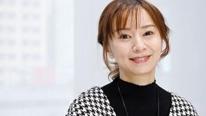 鈴木亜美さん=迫和義撮影