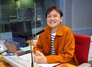 東海ラジオの源石和輝アナウンサー=名古屋市東区