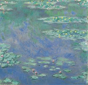 クロード・モネ「睡蓮」 1907年 アサヒビール大山崎山荘美術館蔵