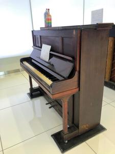 名古屋市内で空襲に遭ったピアノ。被爆ピアノ資料館に展示される予定だ=愛知県被爆ピアノ事務局・津田ゆかりさん提供