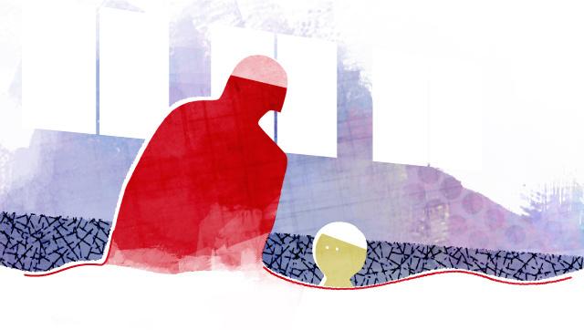 子どもへの性暴力第4部④ イラスト?米澤章憲