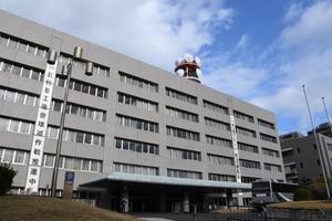 福岡県警本部=福岡市博多区東公園