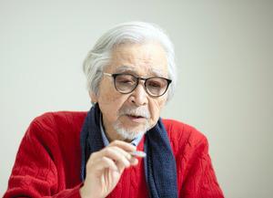 映画監督の山田洋次さん=2021年2月、関田航撮影