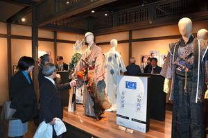 浜松市が開設した「おんな城主 直虎 ドラマ館には俳優が着用した衣装も展示されていた=2017年1月12日午前10時8分、浜松市北区細江町気賀、大島具視撮影