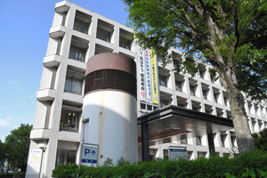 今回の注射ミスが起きた接種会場が入る埼玉県浦和合同庁舎=さいたま市浦和区