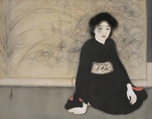 島成園「無題」1918年、大阪市立美術館蔵
