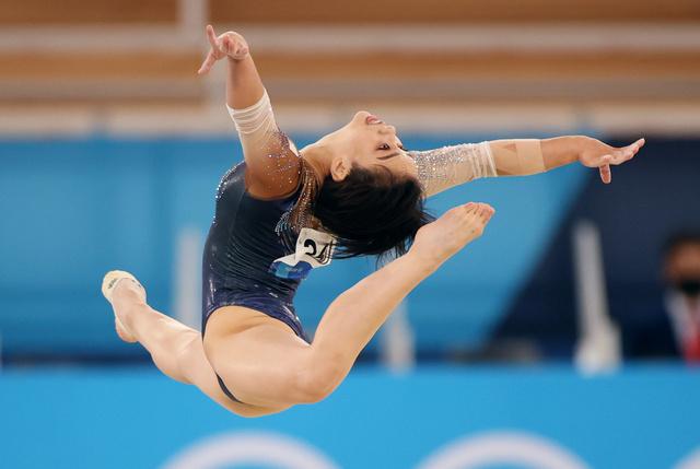 村上茉愛、種目別ゆか銅メダル 体操女子日本、個人のメダルは史上初 ...