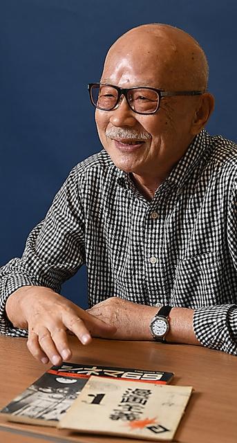 「1960年代はユニークな文化人がごろごろいました」と語る山根さん=相場郁朗撮影
