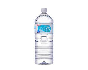 「富士山の天然水」(2リットル)=アイリスフーズ提供