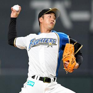 2019年、オリックス戦で登板した日本ハムの斎藤佑樹