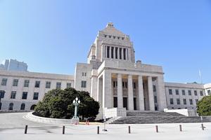 国会議事堂=東京・永田町、恵原弘太郎撮影
