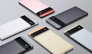米グーグルのスマートフォン「ピクセル」の新製品「6」と「6プロ」=同社提供