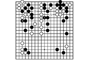 〈途中図〉先番・井山名人(71―73手)