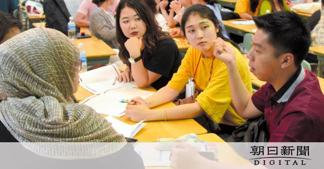 広島)アジアの学生らが平和教育 広島で初開催