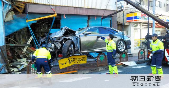 車暴走で男性死亡、容疑の元地検特捜部長を書類送検:朝日新聞デジタル