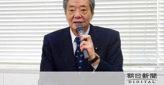 自民・竹下氏が食道がんを公表、入院へ 派閥会長は継続:朝日新聞デジタル