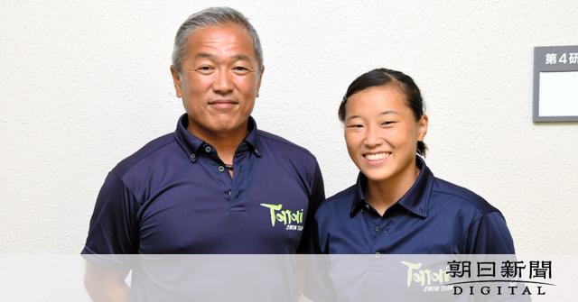 鳥取)二人三脚で挑む五輪 女子飛び込み・三上選手