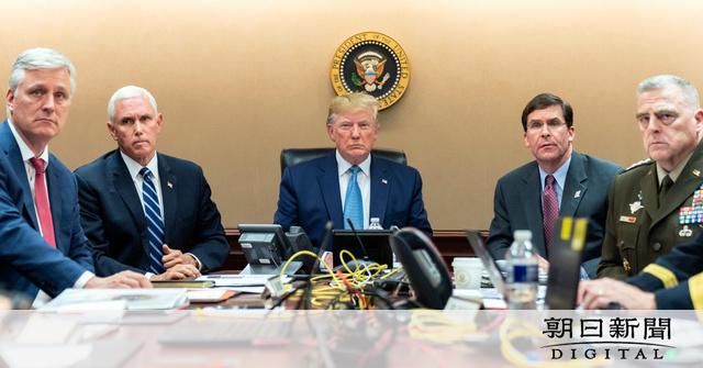 【トランプ大統領】米軍特殊部隊の作戦で「バグダディ容疑者はトンネルを、泣き叫びながら逃げた。犬のように死んだ」