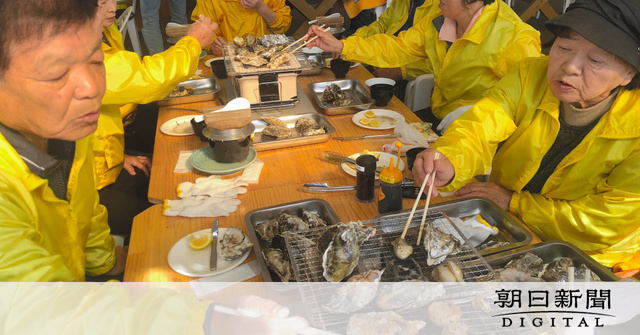 小屋 杵築 牡蠣