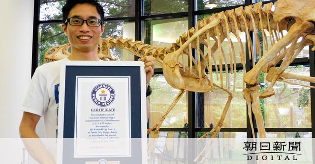 恐竜卵の化石、推定10グラム 世界最小ギネス記録に:朝日新聞デジタル