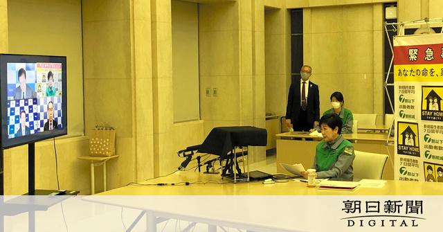 関西と愛知、宣言解除を要請 小池都知事は「緩み」懸念
