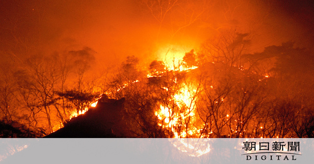 栃木 県 山 火事