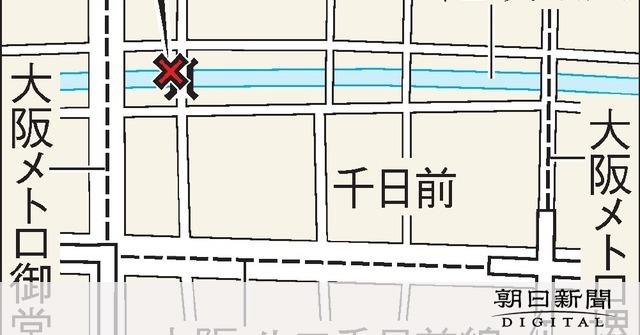 道頓堀に突き落とされたか、男性死亡 殺人容疑で捜査:朝日新聞デジタル