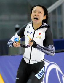 高木美帆1500m世界新で優勝 スピードスケートW杯:朝日新聞デジタル