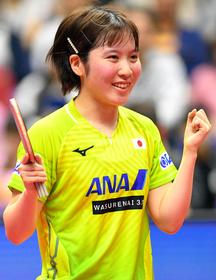 卓球 ジャパン オープン 速報