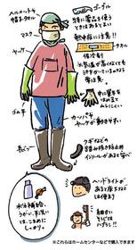 災害 ボランティア 服装