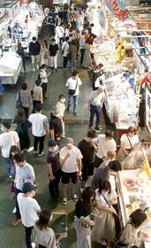 市場 唐戸 活気溢れる「唐戸市場」は、新鮮なお魚やお寿司が食べられて、元気な人達に会える場所!|かんもんノート