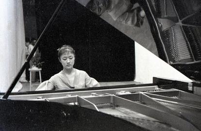 山口)市民館でピアノ納め 59年前と同じピアニスト:朝日新聞デジタル