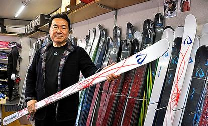 モーグル スキー 板