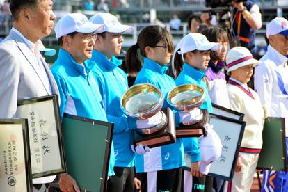 福井)県選手団が天皇杯、皇后杯を獲得 福井国体閉幕 - 一般スポーツ ...