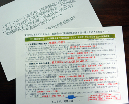 賛成意見を水増し」DL違法化、専門家が文化庁を批判:朝日新聞デジタル