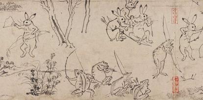 鳥獣 戯画 作者