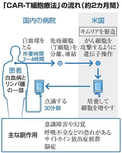 白血病の新薬、重い副作用も 識者「画期的だが慎重に」:朝日新聞デジタル
