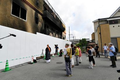 京都 アニメーション 火事 犯人