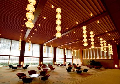 最高傑作」のロビーをタワーに再現 ホテルオークラ:朝日新聞デジタル